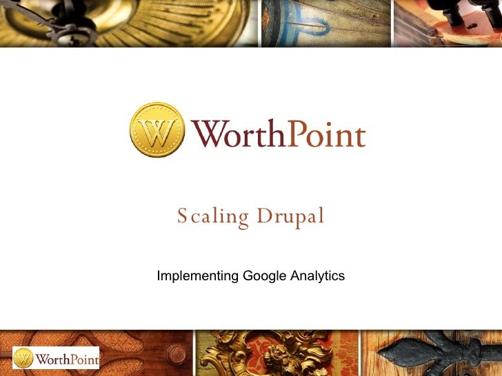 Scaling Drupal Implementing Google Analytics