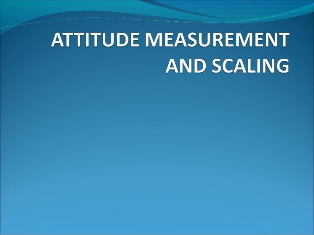 Meaning of Measurement andScalingMeasurement: The term 'measurement'means assigning numbers or some other symbolsto the c...