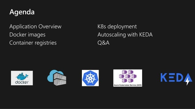 Scaling containers with event driven workloads  Slide 3