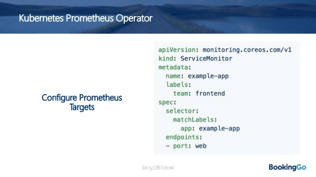 Next Steps.. • We decided to continue ahead with use of Prometheus • But we had determined a number of challenges.. 1. How...