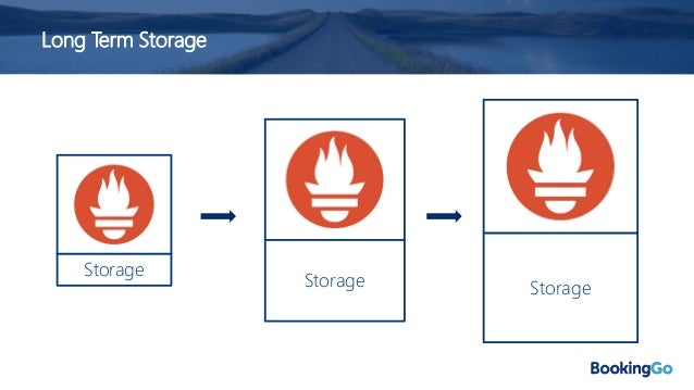 Long Term Storage Storage • Prometheus was initially designed for short metrics retention, it was designed for monitoring ...