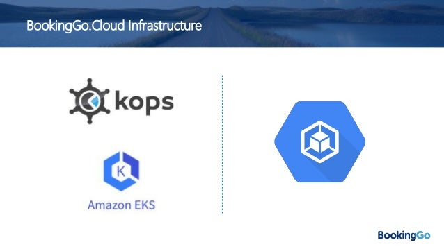 BookingGo.Cloud Environments • Dev.. • Test.. • Production.. • Tooling.. • ..plus multiple regions! • 10 Kubernetes cluste...
