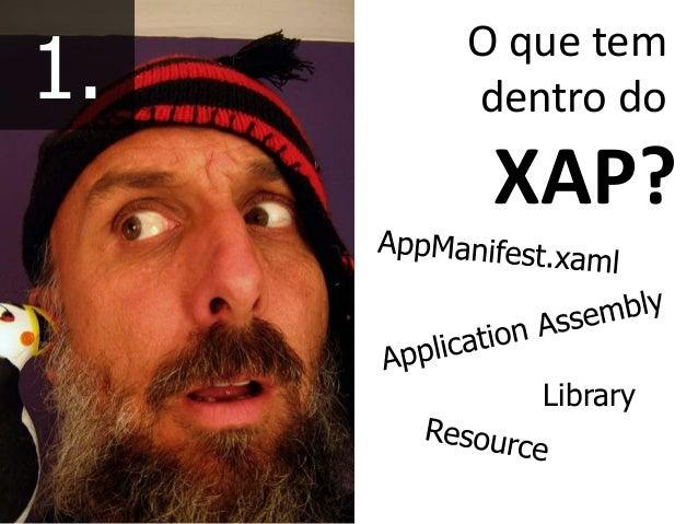O que tem dentro do XAP? Library 1.