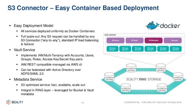 Storage for digital business by scality tech field days for Vault docker container