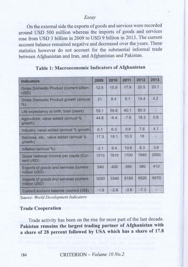trade investment roadmap essay