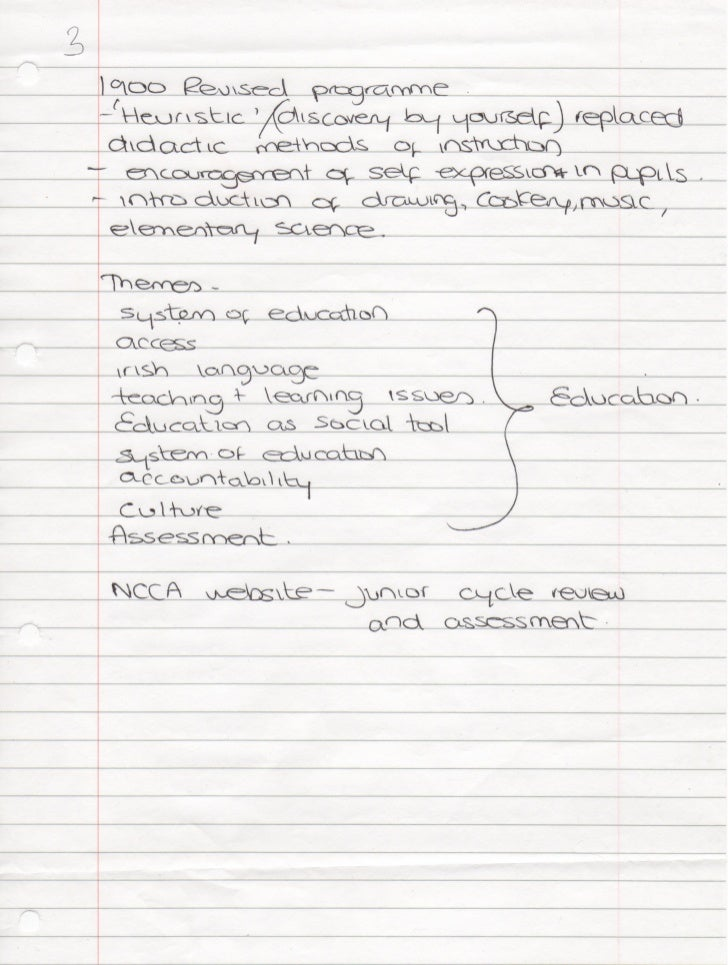 My Notes-hist of Ed