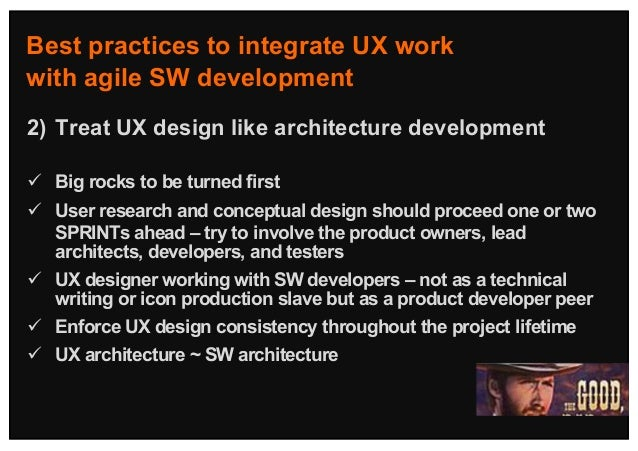 Bridging User Experience Design With Agile Product Development