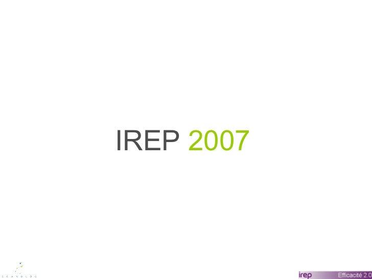 IREP  2007