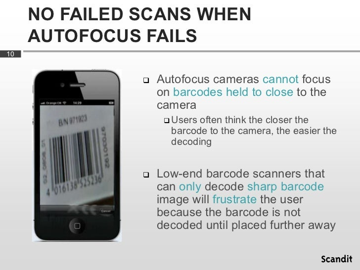Blurry Barcode Scanning: What it Means and Why it Matters