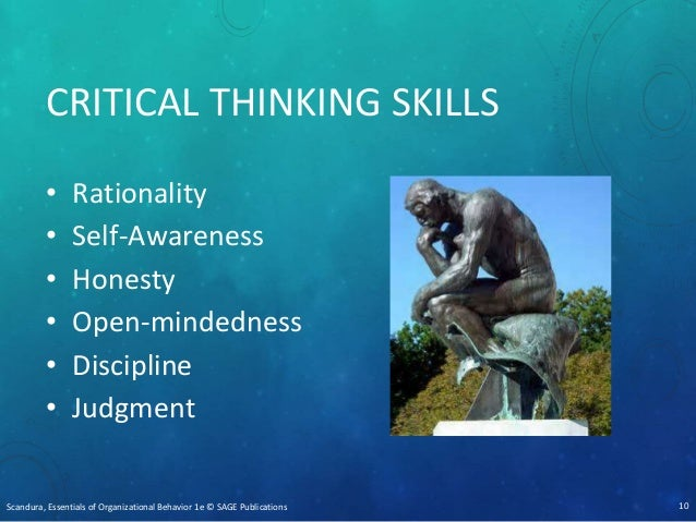 decision making and critical thinking exercises for employees Why is critical thinking the #1 skill of importance in today's workplace  today's  rapidly changing workplace a cluster of problems, options and decisions.