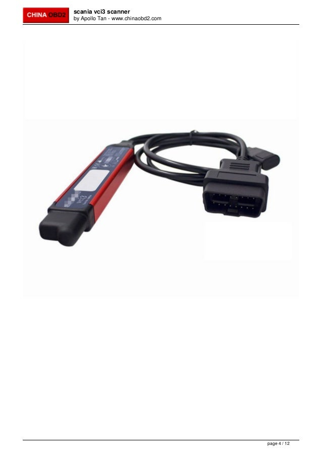 VCI-3 VCI3 sdp3 V2.31 Scanner Wifi Wireless Truck Diagnostic Tool  for S-ca-nia