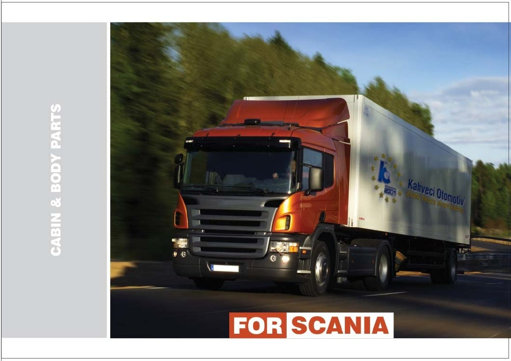 Scania body parts_catalogue