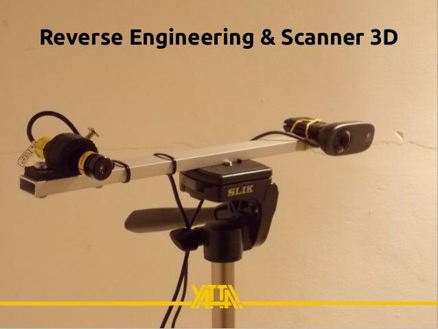 Reverse Engineering & Scanner 3D