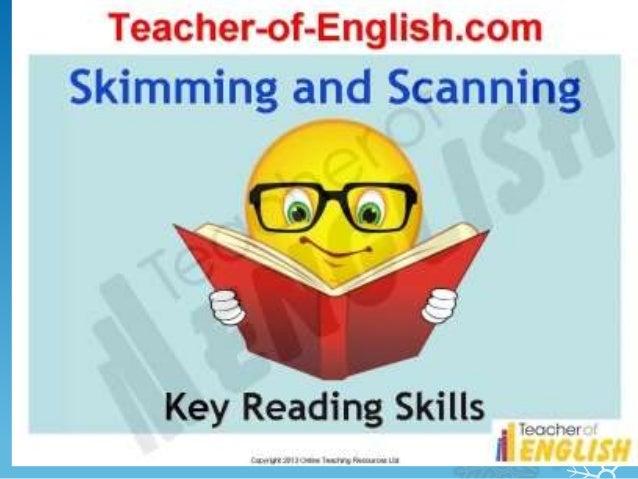 KEY READING SKILLS