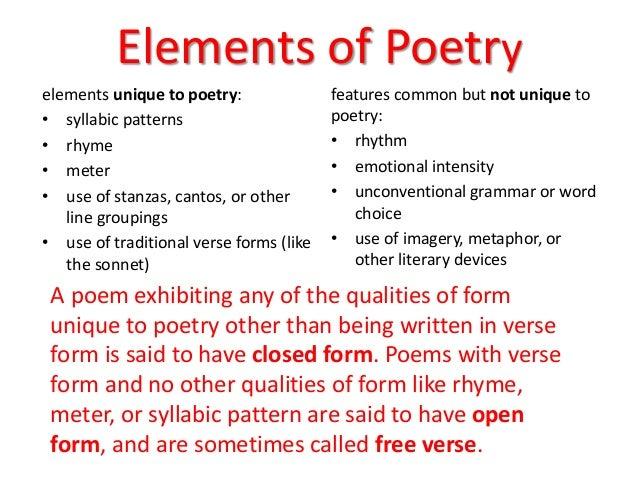 Scanning poems ppt