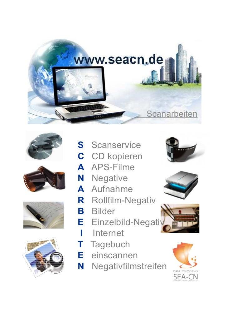 S   ScanserviceC   CD kopierenA   APS-FilmeN   NegativeA   AufnahmeR   Rollfilm-NegativB   BilderE   Einzelbild-NegativI  ...