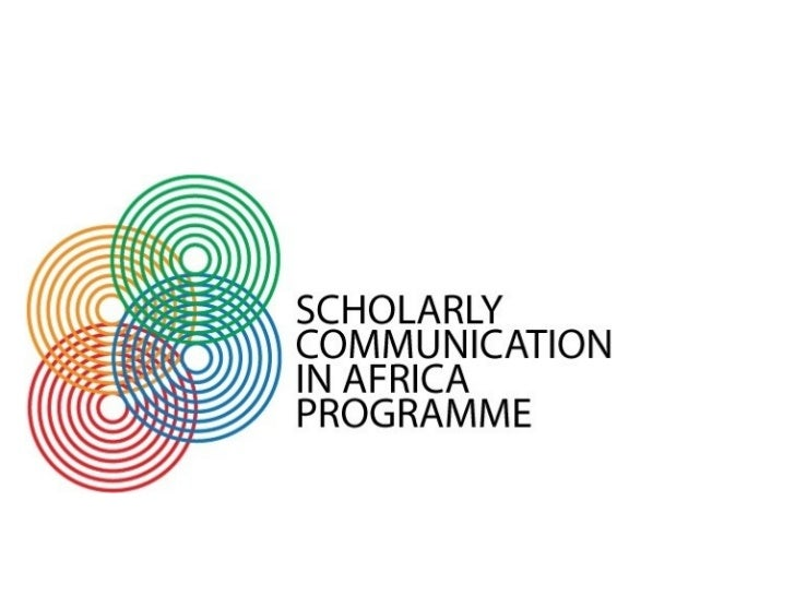 Access to Africa's                      knowledge                  Scholarly Communication in Africa                     U...