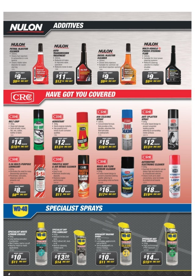 Supercheap Auto October Catalogue