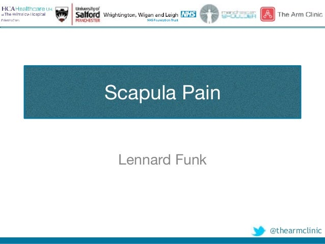 @thearmclinic Scapula Pain Lennard Funk