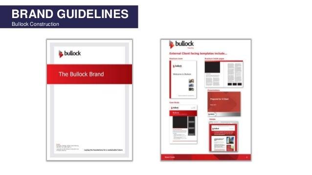 BRAND GUIDELINES Bullock Construction
