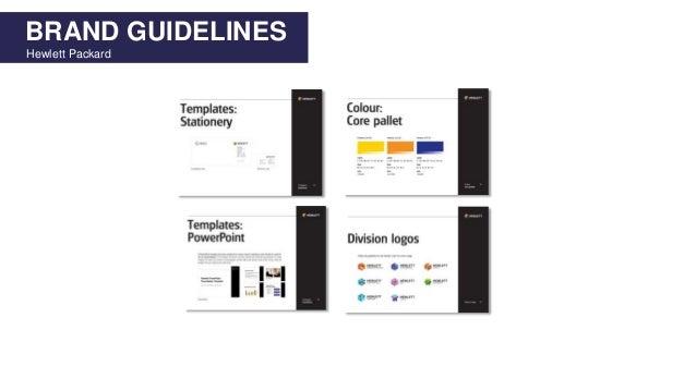 BRAND GUIDELINES Hewlett Packard