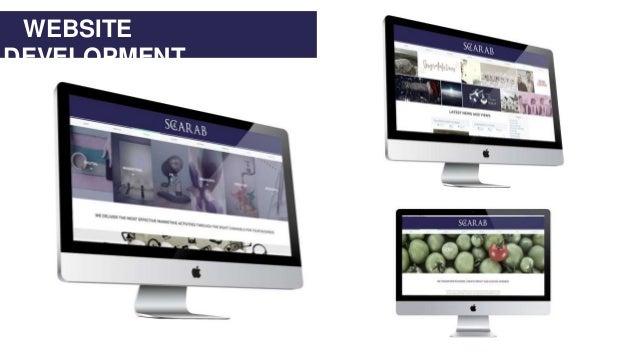 WEBSITE DEVELOPMENT www.scarab4.com