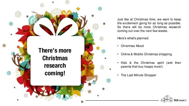 Just like at Christmas time, we want to keep the excitement going for as long as possible. So there will be more Christmas...