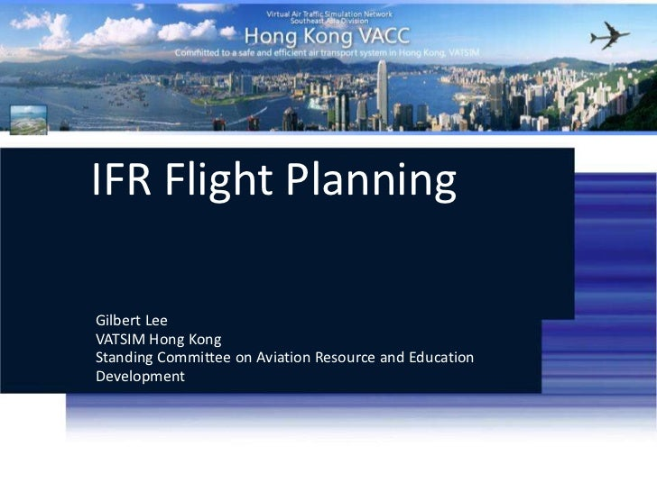 IFR Flight Planning