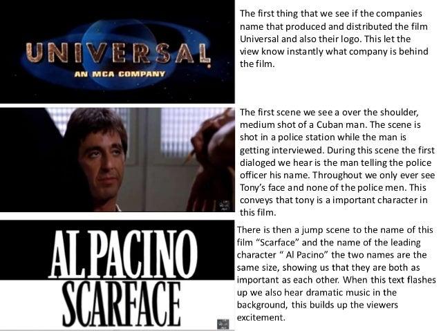 "Film Analysis ""SCARFACE"" Academic Essay"
