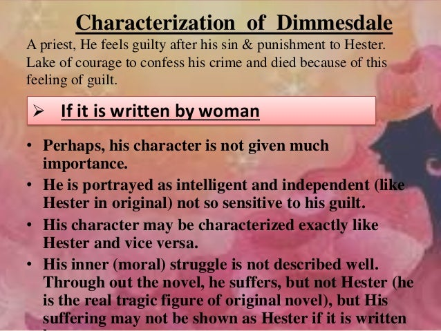 the sufferings and struggles of the character of dimmesdale in the novel the scarlet letter by natha The struggle for the soul of arthur dimmesdale essay in the novel, the scarlet letter, nathaniel hawthorne relates the struggle of dimmesdale's soul to the classic model of good vs - the struggle for the soul of arthur dimmesdale essay introduction evil.
