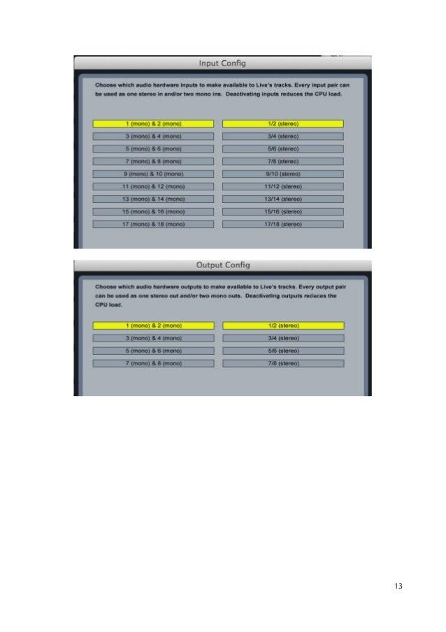 focusrite scarlett 18i20 user manual