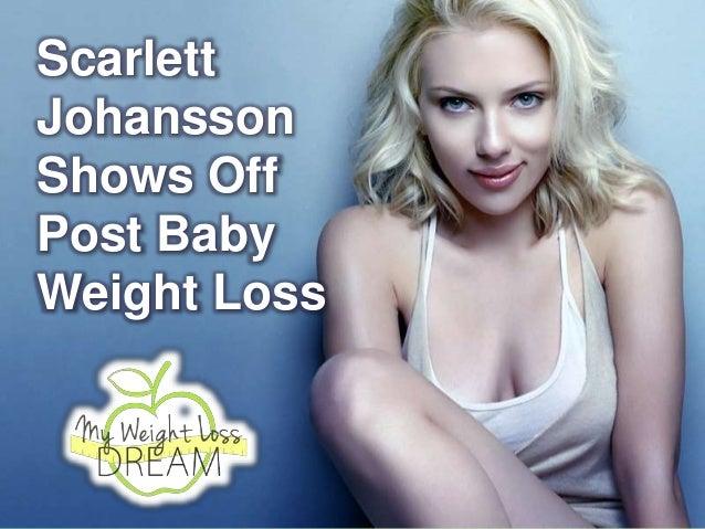 Scarlett Johansson Shows Off Post Baby Weight Loss