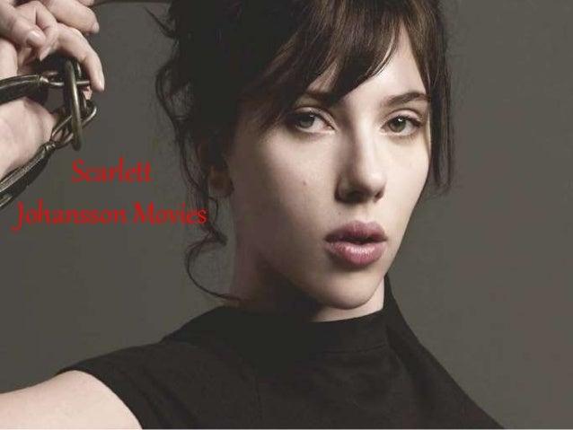 Scarlett Johansson Movies