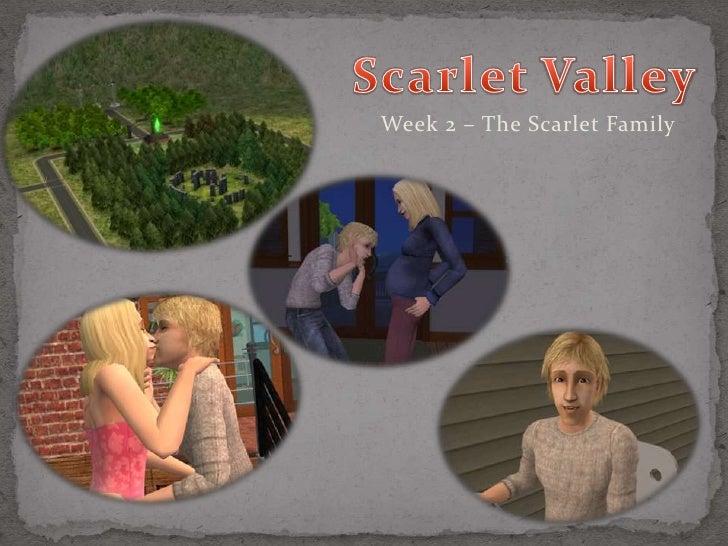 Week 2 – The Scarlet Family
