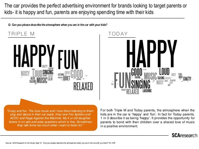 The car provides the perfect advertising environment for brands looking to target parents or kids- it is happy and fun, pa...