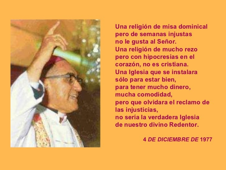Romero 35 Anos Despues Religion Iglesia Congreso Uca Castillo further 231 likewise Papel De Los Sacerdotes En America Latina moreover Archbishop Oscar Romero Kill Will Reborn as well Read. on monsenor oscar romero