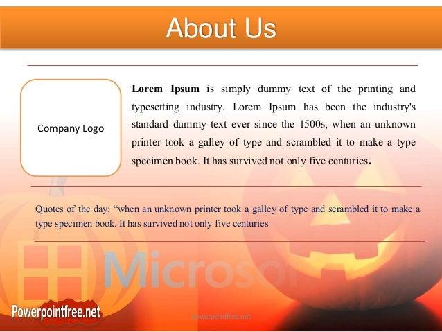 scary microsoft powerpoint templates powerpointfree net