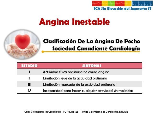 SCA Sin Elevación del Segmento ST  Diagnostico Historia clínica  EKG  Biomarcadores Imágenes No invasivas Invasivas Guías ...