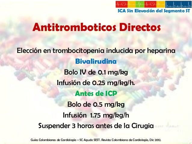SCA Sin Elevación del Segmento ST  Estrategias de Manejo  Intervencionista  Conservadora  Guías Colombianas de Cardiología...
