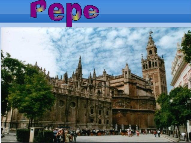 Excursión a Catedral,Giralda y           Barrio Santa Cruz    El día 8 de Noviembre, hicimos una    excursión muy interesa...