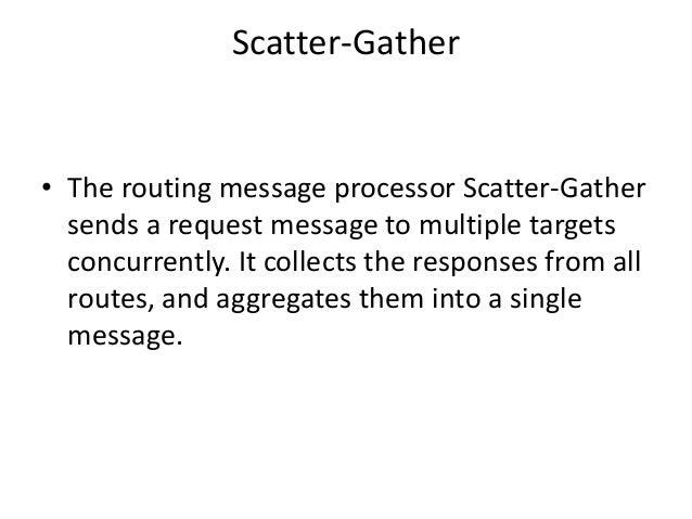 Scatter gather flow in mule