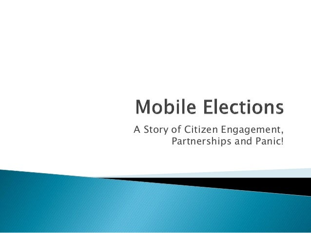 A Story of Citizen Engagement, Partnerships and Panic!