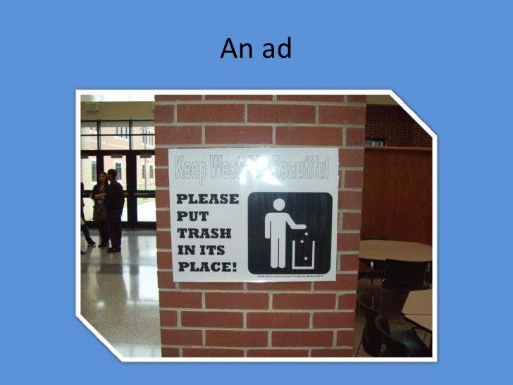 An ad