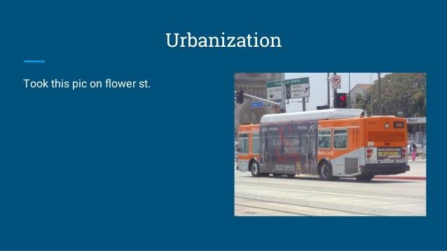 Urbanization Took this pic on flower st.