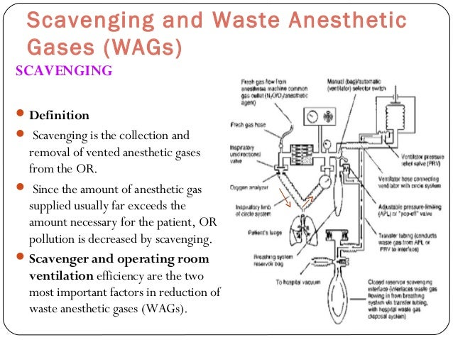 Scavenging System In Operating Room