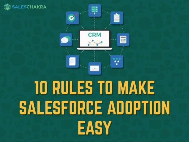 These rules are based on learnings and findings of Xavier Augustin, CEO Y-Axis.com He made a 100% switch over to salesforc...