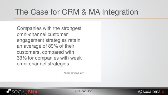 Companies with the strongest omni-channel customer engagement strategies retain an average of 89% of their customers, comp...