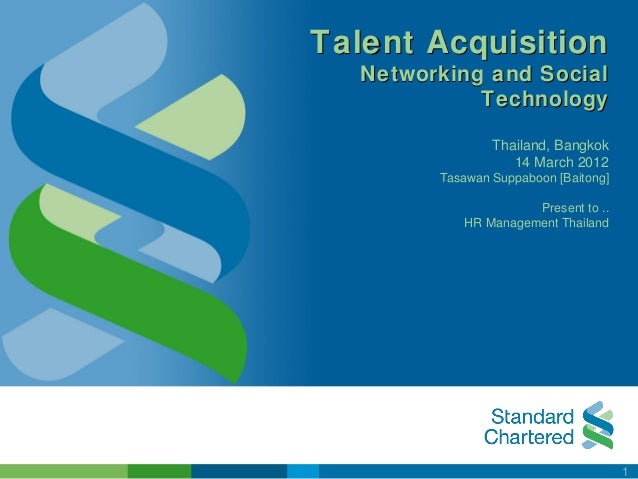 Talent Acquisition   Networking and Social             Technology                 Thailand, Bangkok                    14 ...