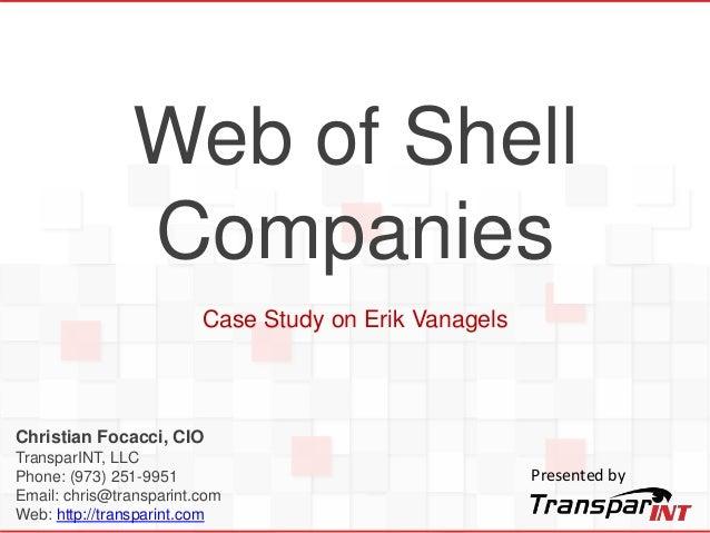 Christian Focacci, CIO TransparINT, LLC Phone: (973) 251-9951 Email: chris@transparint.com Web: http://transparint.com Web...