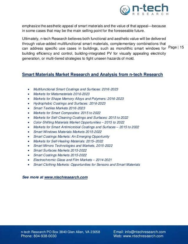 smart materials in construction pdf